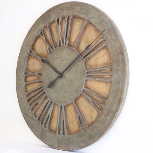 Classic Shabby Chic Centrepiece Wall Clock. Decorative Statement Art for you House.