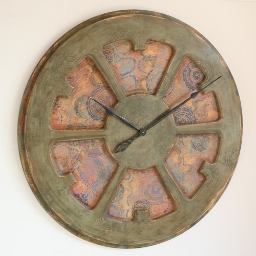Glamorous Extra Large Decorative Wall Clocks. Expensive statement piece of art.