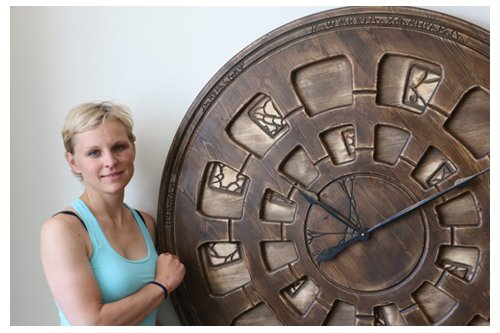 Very Large Wall Clocks from Wood