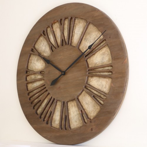 Centrepiece Wall Clock with Roman Numerals