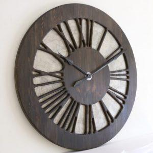 zegar rzymski tudor do salonu