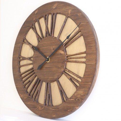 Zegar Rzymski Vintage na ścianę