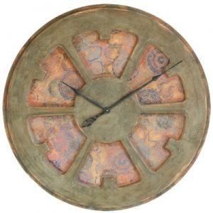 zegar artystyczny o średnicy 100 cm i niesamowitym charakterze.