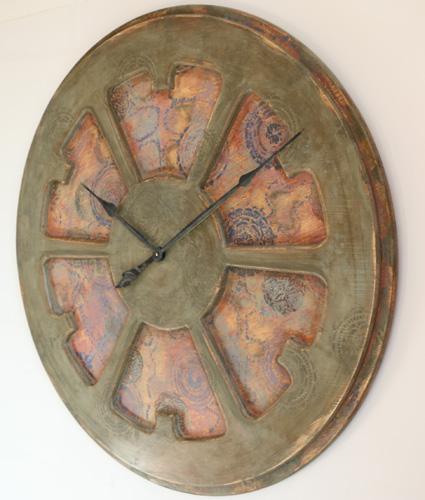 boho artistic timepiece