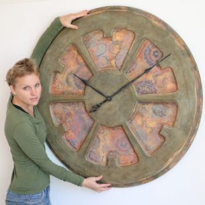 artistic timepiece