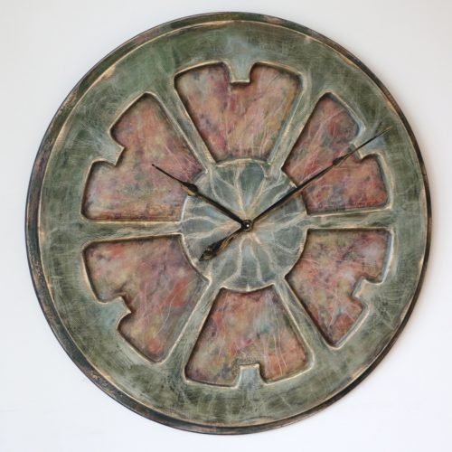 Large Artistic Wall Clock