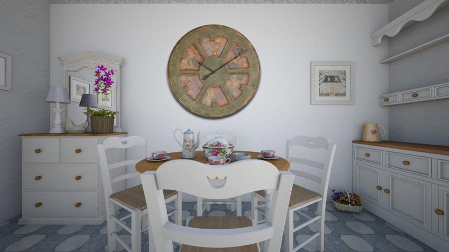 massive designeruhr 75 120 cm exzentrisch k nstlerisches thema boho. Black Bedroom Furniture Sets. Home Design Ideas