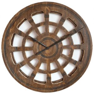Handmade Wooden Wall Clock