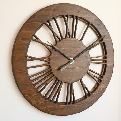 zegar ozdobny vintage na ścianę