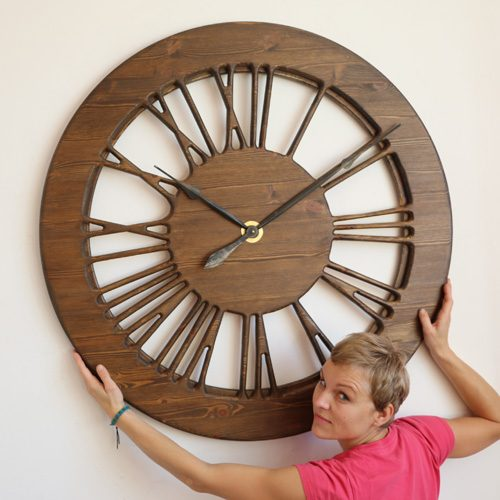 Amazing Vintage Skeleton Clock