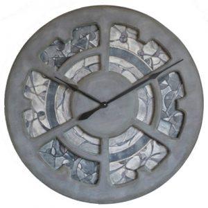 Stunning mosaic wall clock