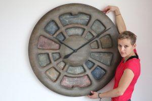 large bedroom wall clock