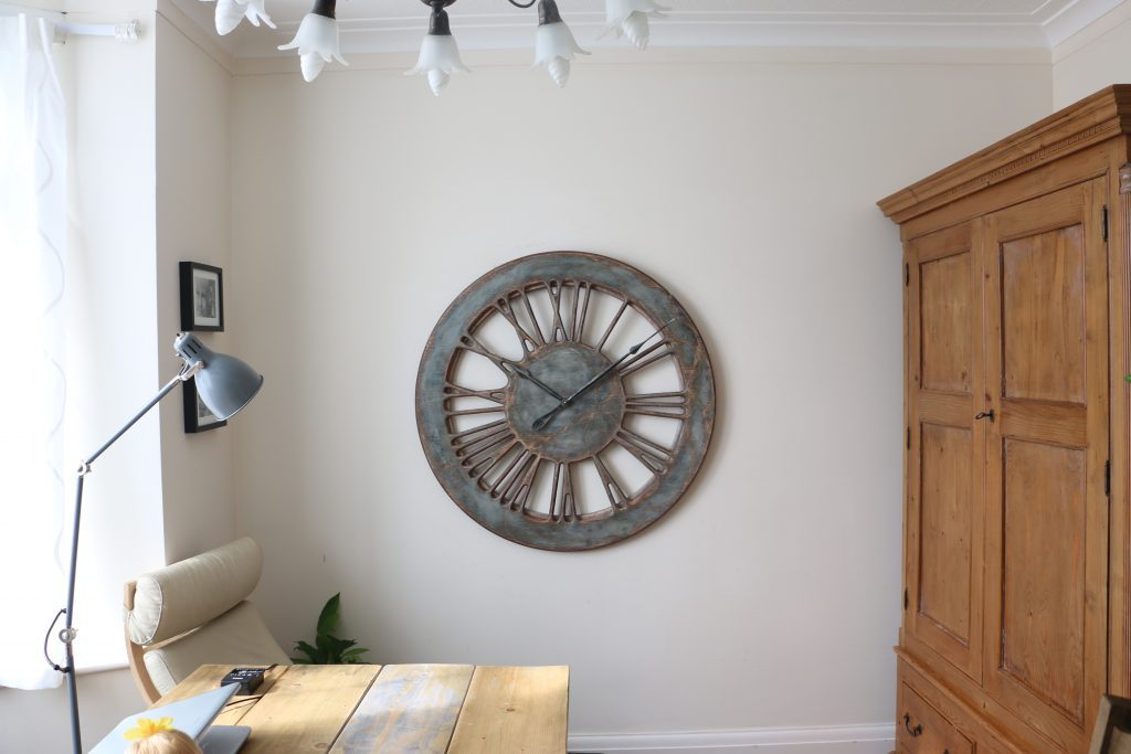 Large Shabby Chic Clocks Rustic Wall Clocks Handmade