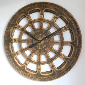 very large round clock