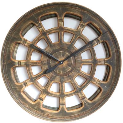 large round clock