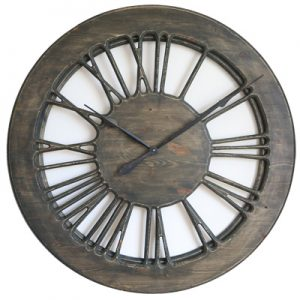 large skeleton clock