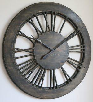 Very Large Rustic Skeleton Designer Wall Clock