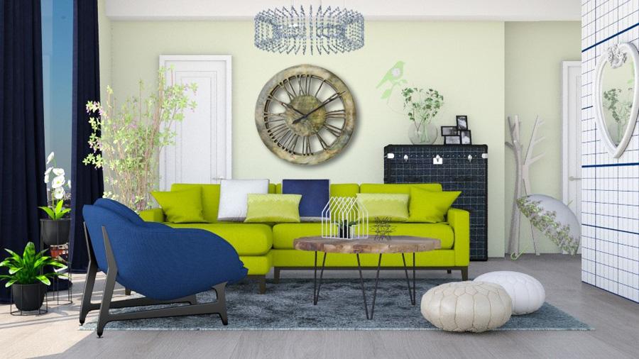 sehr gro e moderne wanduhren handgefertigt durchmesser 100 cm. Black Bedroom Furniture Sets. Home Design Ideas
