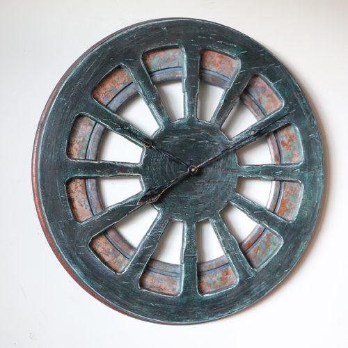 unique decorative clock for cottage