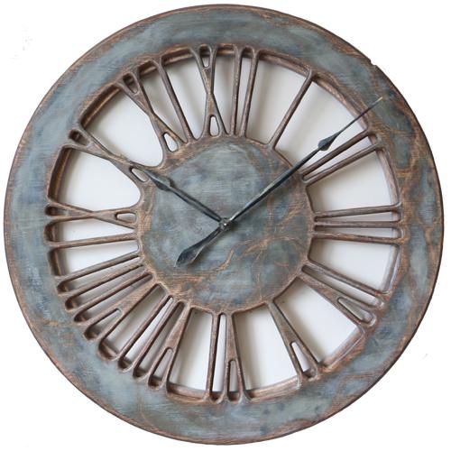 wielki zegar cienny z cyframi rzymskimi. Black Bedroom Furniture Sets. Home Design Ideas