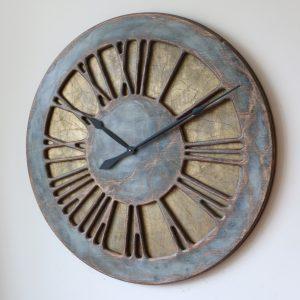 100 cm okrągły zegar ścienny z cyframi rzymskimi
