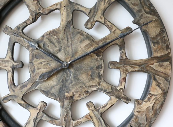 unique wall clock- Features Close-up