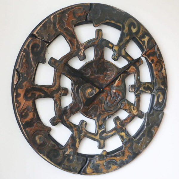 unique designer clock handmade