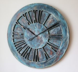 rzymski zegar ozdobny