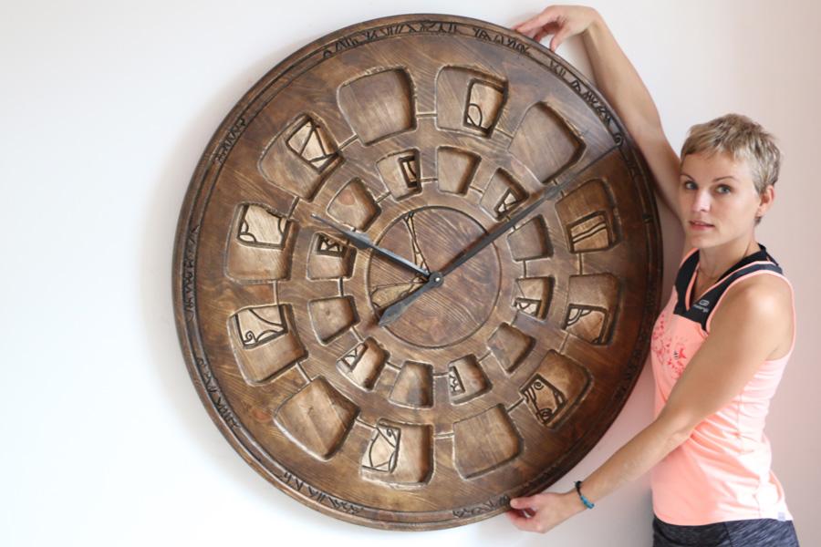 Duże Designerskie zegary ścienne