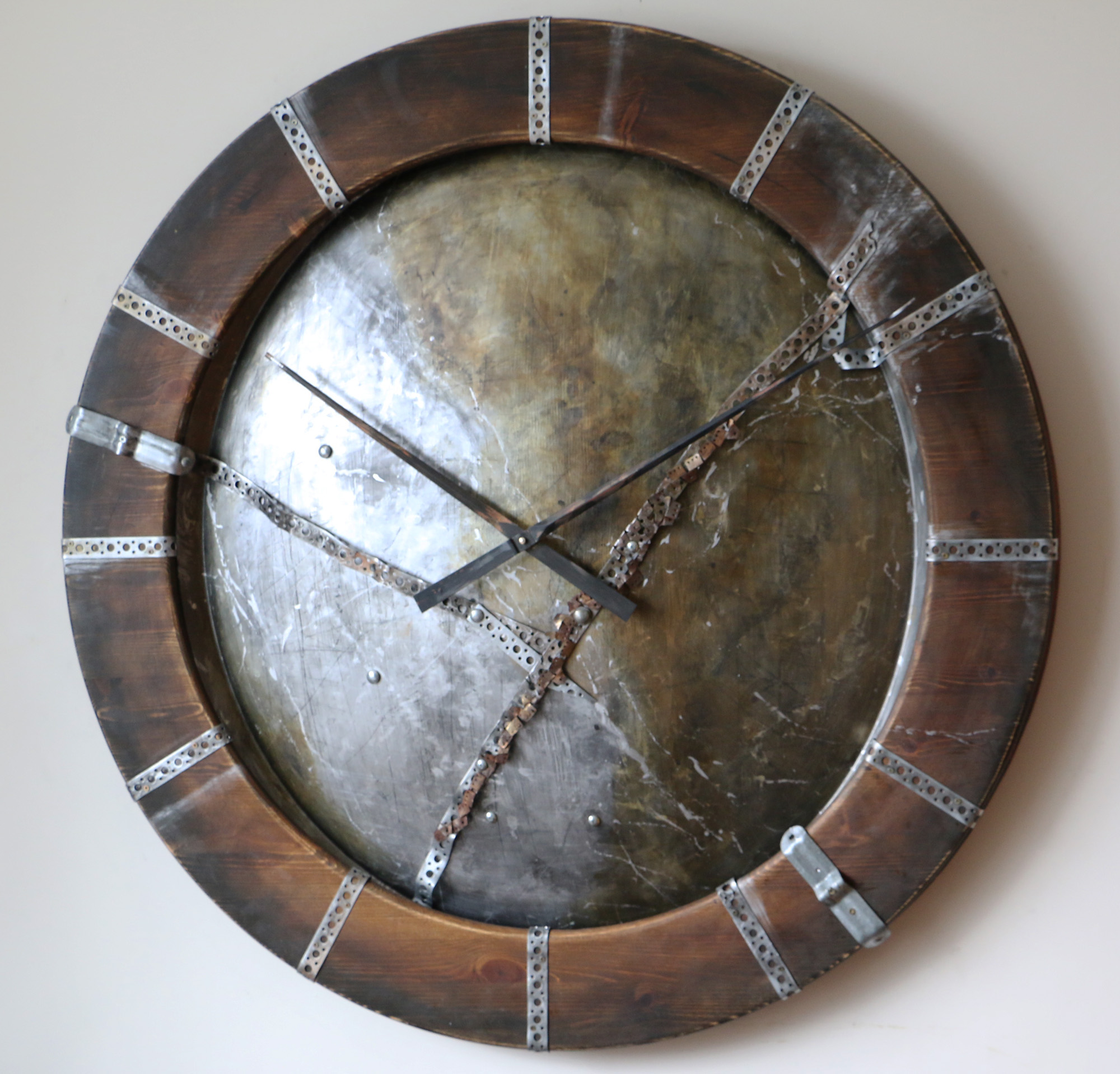 Large Industrial Wall Clocks