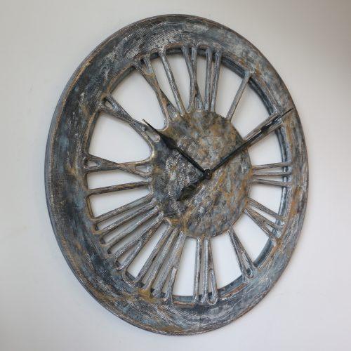 shabby chic wall clock handmade