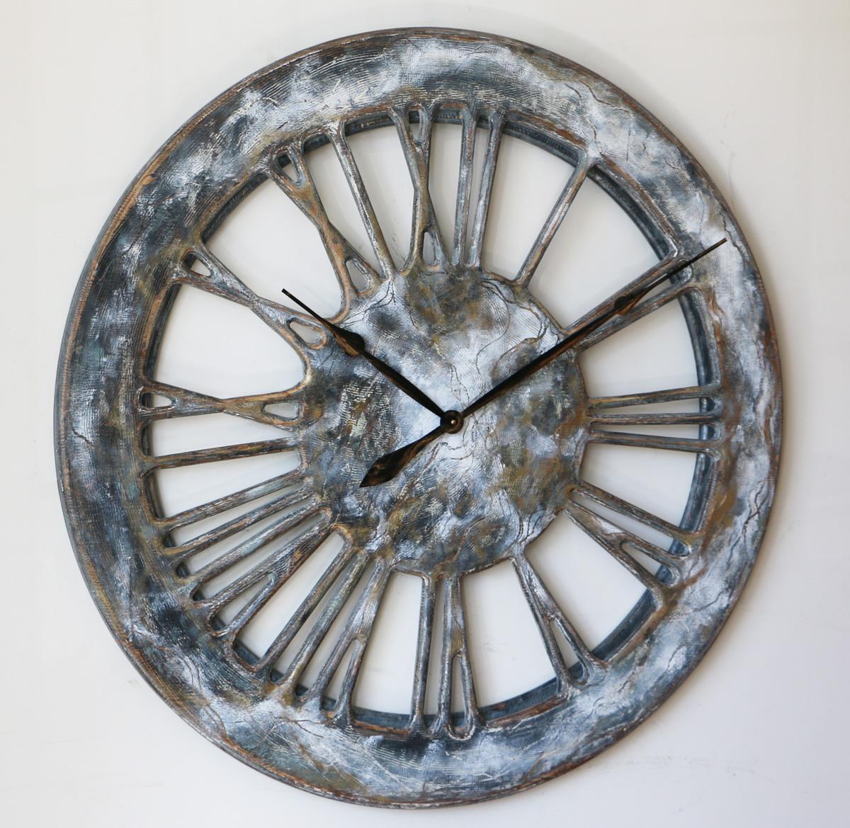rustic shabby chic clock