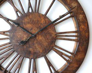 Powiększenie zegara ściennego w stylu vintage