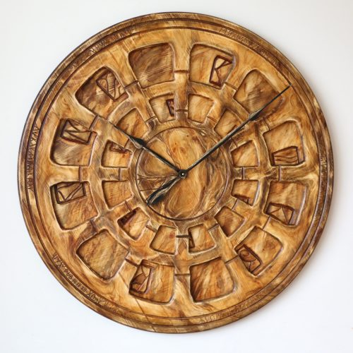 Clock Made of Wood
