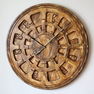 Handmade Wall Clock for Lounge