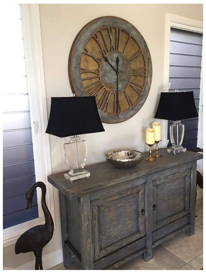 Large Wall Clock For Living Room with Border