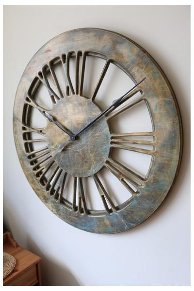 duze zegary dekoracyjne