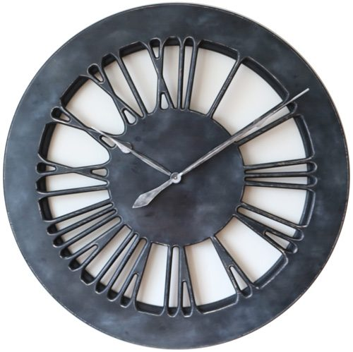 Dark Grey Clock