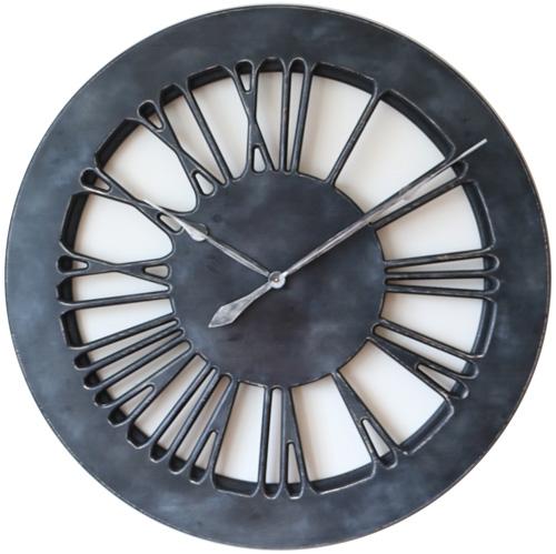 Dunkelgraue Uhr