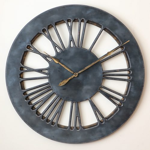 Dark Grey Wall Clock