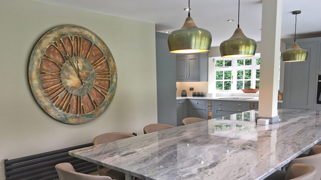 Large Kitchen Wall Clocks That Provide A True Wow Factor