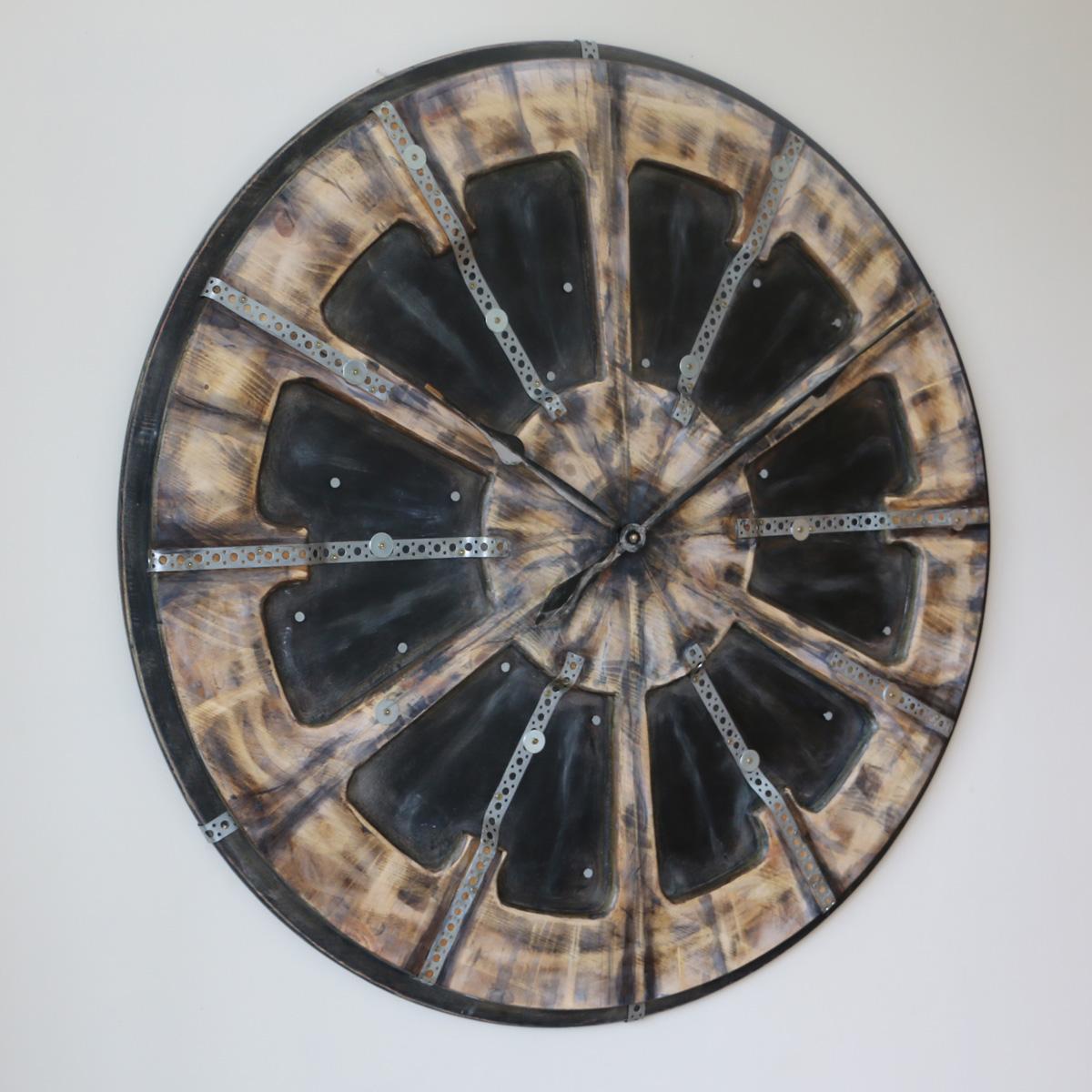Industrial Style Clock Left